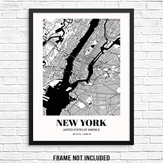 Not Framed New York City Wall Art Decor Set of 6 5x7 Prints Urban Industrial Travel Pictures. NYC Architecture Photography Set