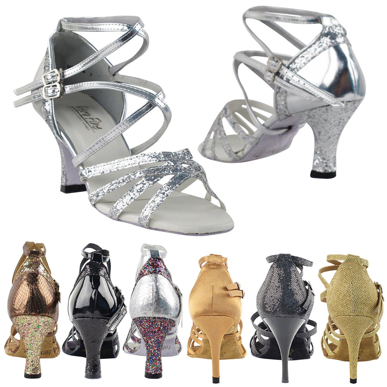 2019年秋冬新作 [Gold Pigeon Shoes] レディース Silver B07B125HCC 2.5