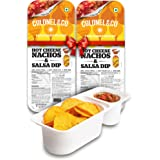 Colonel & Co Hot Cheese Nachos with Salsa, 75g (Pack of 2)