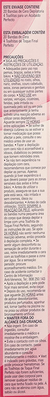 Amazon.com: VEET BANDAS DE CERA DEPILATORIA PIELES NORMALES 16 + 4 GRATIS: Beauty