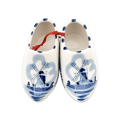 Amazon.com: Cerámica Holandesa de madera Zapato Par ...