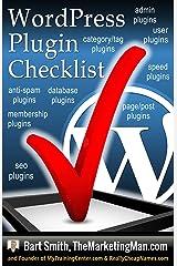 Wordpress Plugins Checklist Kindle Edition