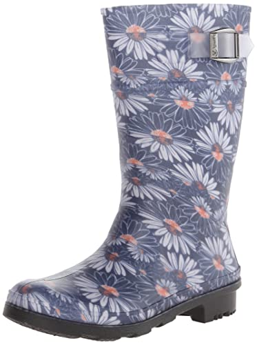 Amazon.com | Kamik Daisies Junior Rain Boot (Little Kid/Big Kid ...