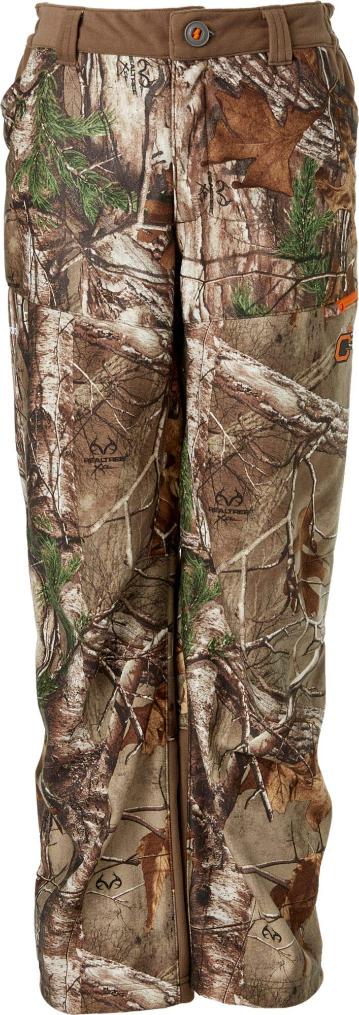 Field & Stream Youth Every Hunt Softshell Hunting Pants,(Realtree Xtra,X-Large) by Field & Stream