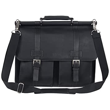836b8e9fb Amazon.com: Kenneth Cole Reaction Colombian Leather Dual Compartment  Flapover 15