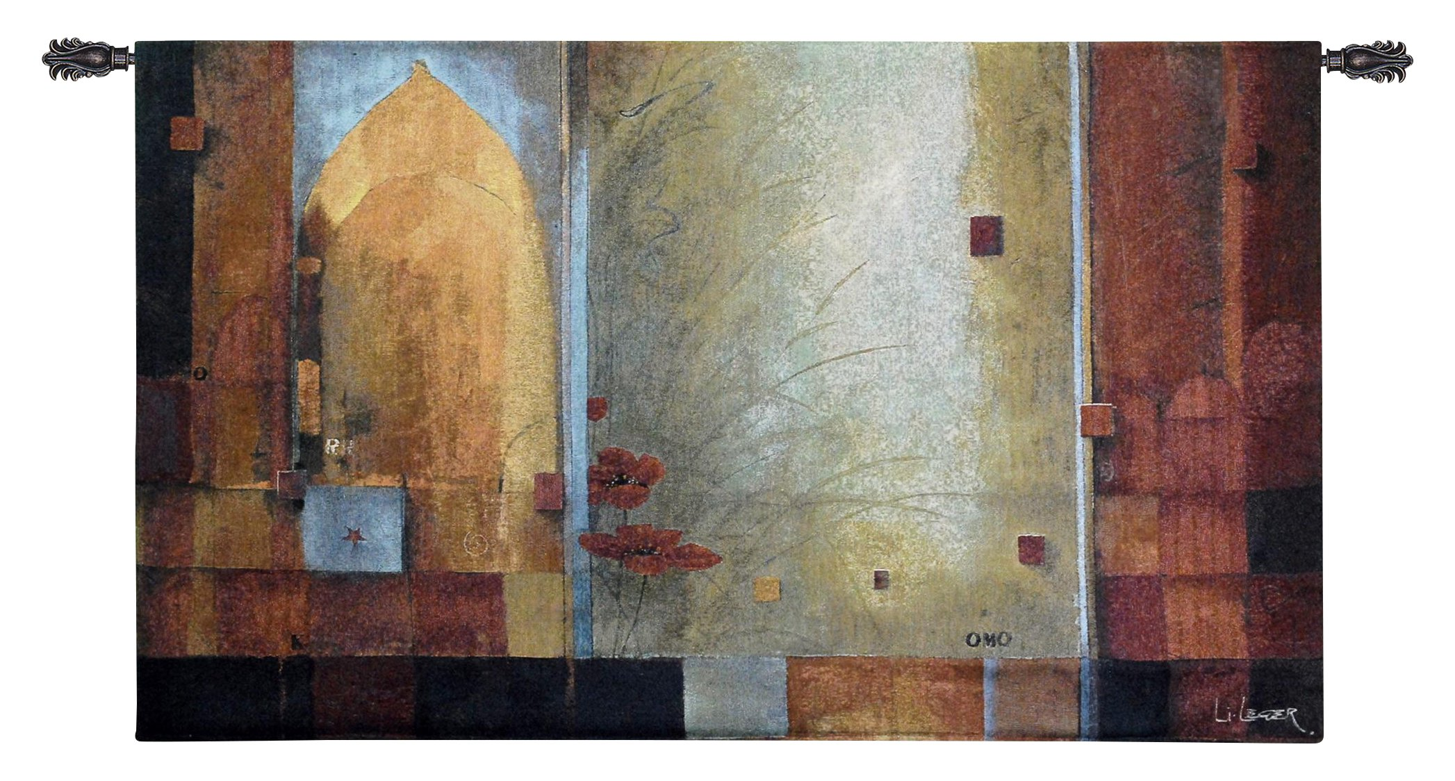 Fine Art Tapestries ''Passage To India'' Wall Tapestry, Small