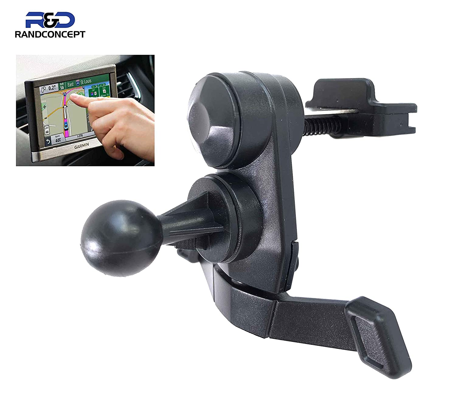 New Usefull Universal Car Vehicle Air Vent Mount Holder Clip For Garmin Nuvi GPS