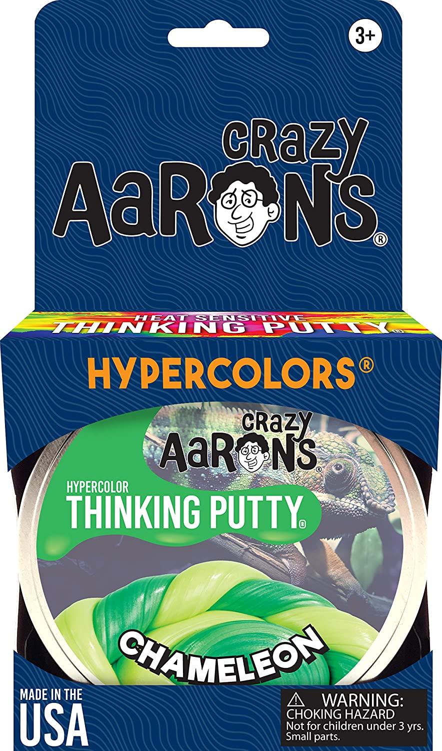 amazon com crazy aaron s thinking putty 3 2 ounce hypercolor