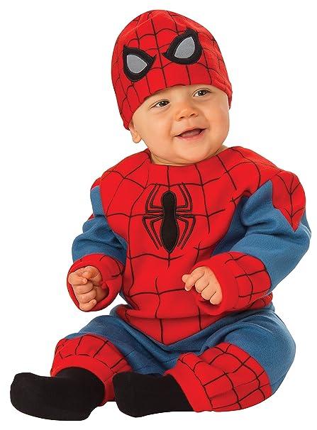 Amazon.com: Rubie s Baby Marvel Spider-Man Romper: Clothing