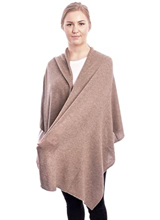hochwertiges Design Geschäft Mode-Design ADAMANT® 100% Kaschmir Damen Stola in Verschiedenen Farben l 180cm x 60cm