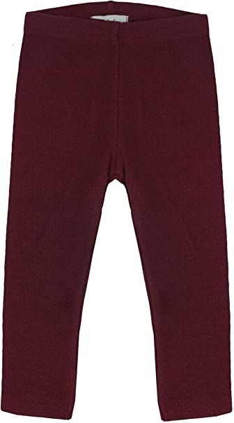 84937643827bb Amazon.com: Lil Legs Boys Girls Unisex Ribbed Leggings: Clothing