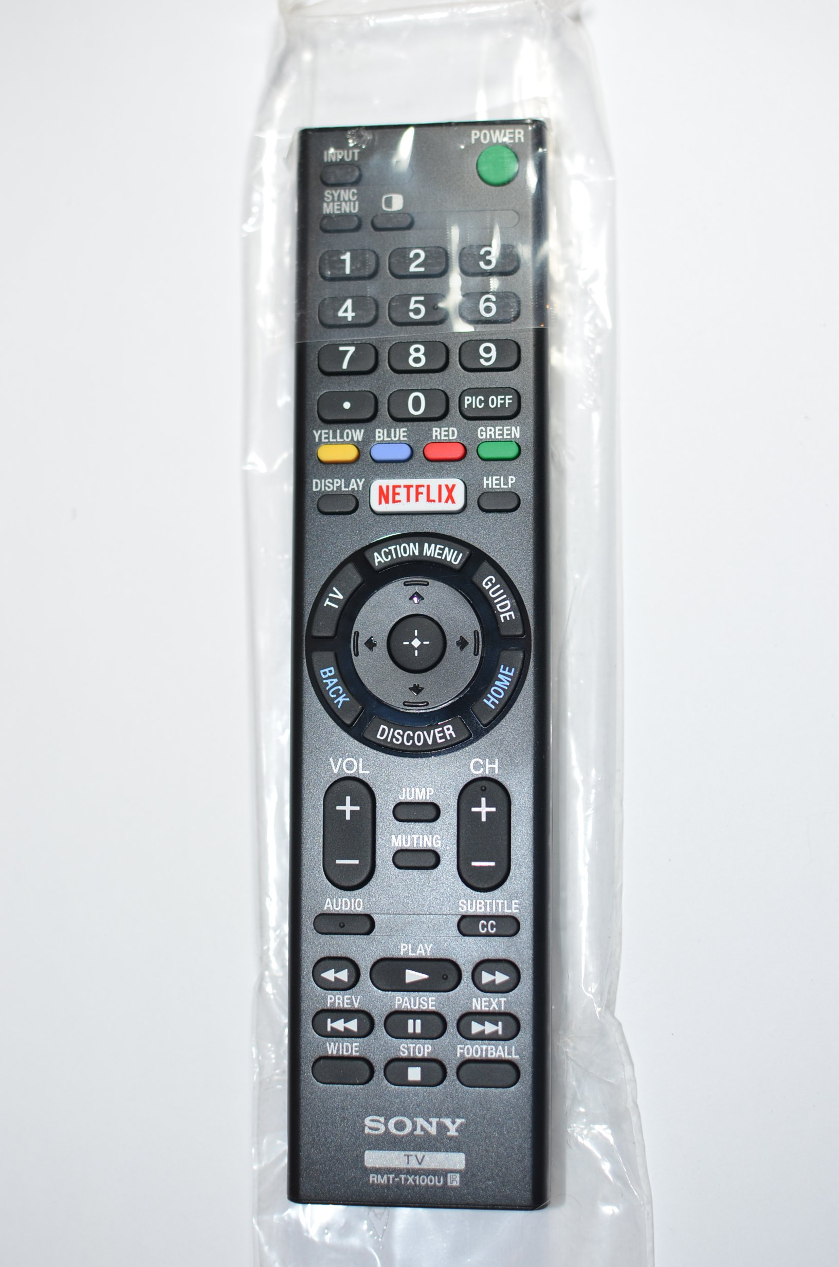 Sony LED Smart TV Remote Control RMT-TX100U by Sony