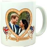 Coffee Mug Royal Wedding Harry & Meghan, H R H Prince Henry of Wales to Meghan Markle