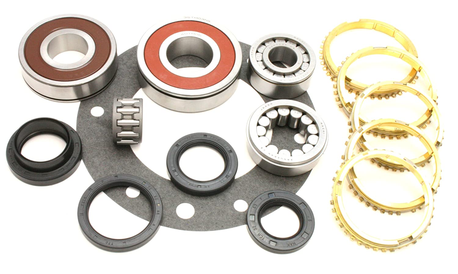 Transparts Warehouse BK163JWS Jeep AX15 Transmission Rebuild Kit with Rings