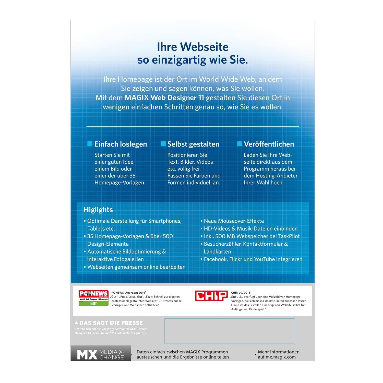 MAGIX Web Designer 11: Amazon.de: Software
