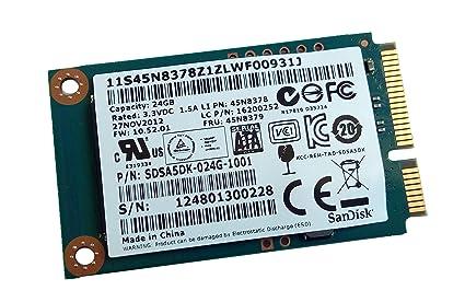 Amazon.com: 24GB mSATA Hard Disk for Lenovo Ideapad Yoga 2 ...