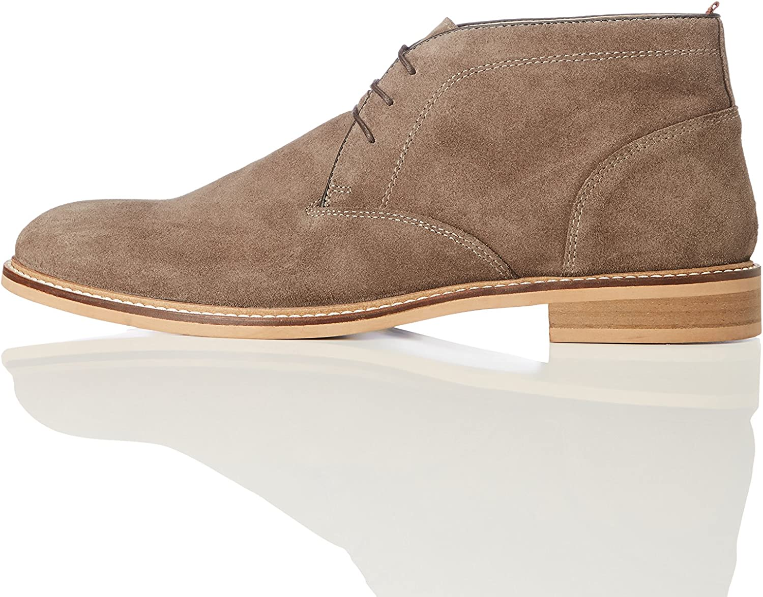 Marca Amazon - find. Camerton Natural Rand - Botas Chukka Hombre