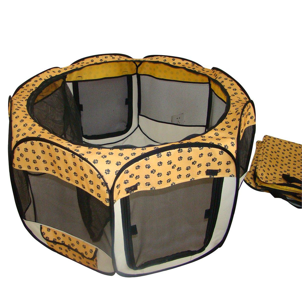 BestPet Pet Dog Cat Tent Puppy Playpen Exercise Pen