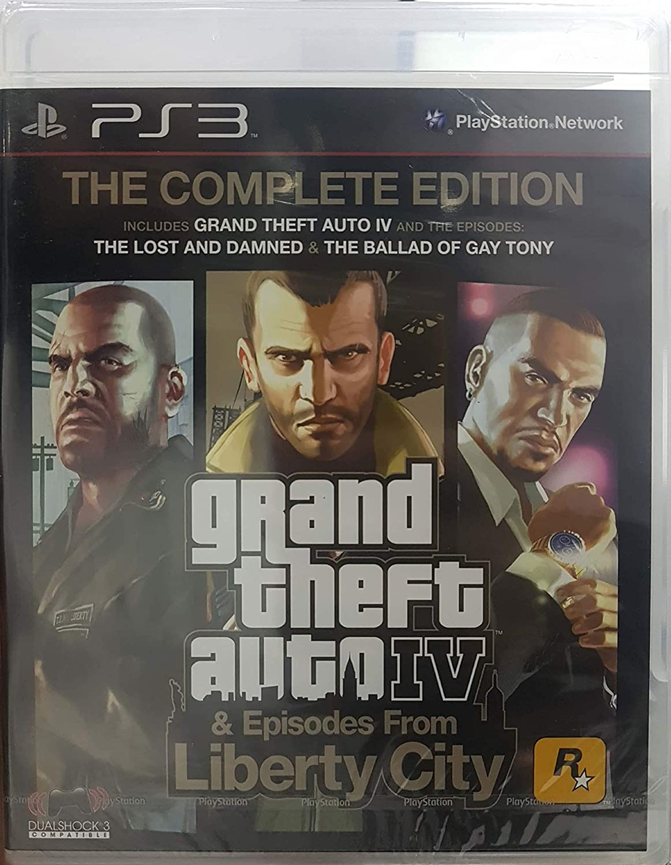 Grand Theft Auto IV 4 GTA Complete Edition: Amazon.es: Videojuegos