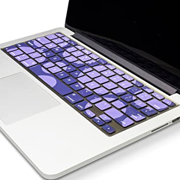 Keyboard Soft Case for MacBook Air Pro 13//15//17 inches Cover Protector-Purple