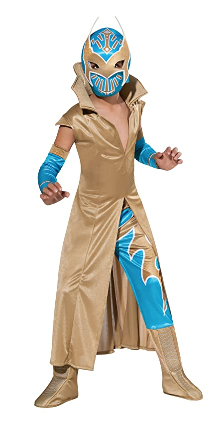 WWE Wresting Sin Cara Deluxe Child Costume - Small  sc 1 st  Amazon.com & Amazon.com: WWE Wresting Sin Cara Deluxe Child Costume - Small: Toys ...