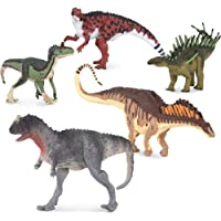 Terra by Battat – Toy Dinosaur Set with Ceratosaurus (5pc) – Collectible Dinosaurs and Toys for Kids Age 3+