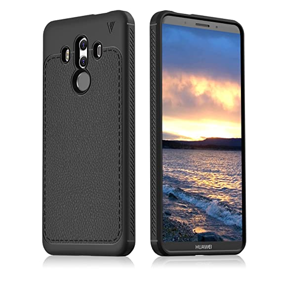 purchase cheap eb19c 8050f Huawei Mate 10 Pro Case Soft TPU Case for Huawei Mate 10 Pro (Black)