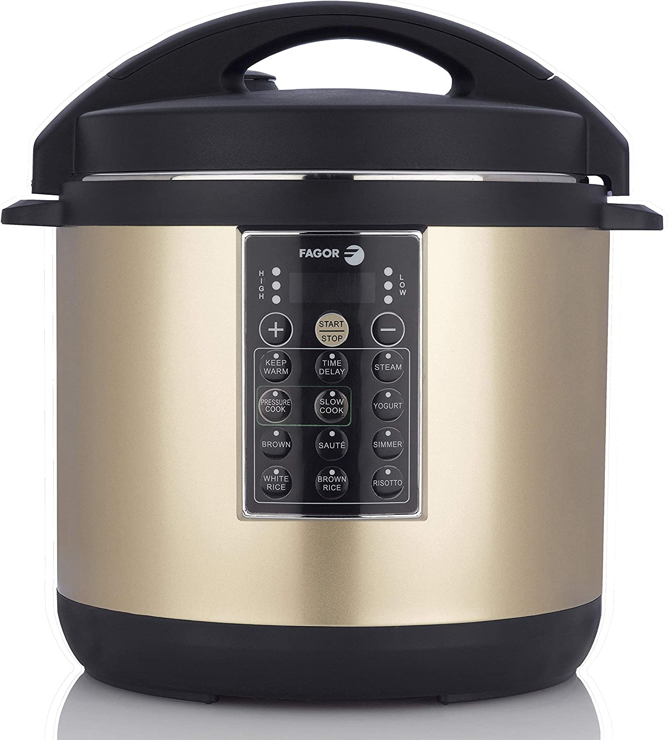 Fagor 935010054 Champagne LUX, 6QT Multicooker, 6 Quart (Renewed)