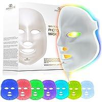 Project E Beauty LED Face Mask Light Therapy   7 Color Skin Rejuvenation Therapy LED Photon Mask Light Facial Skin Care…