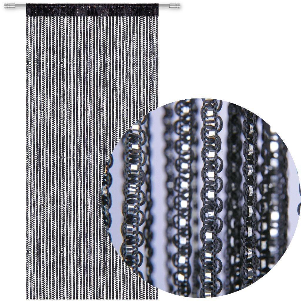 s 90/x 200/cm GB UNICORN Rideau de porte fen/être Panneau salle d/écoratifs intercalaire Rideau Parfait comme Moustiquaire rideau