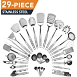HomeHero 29-Piece stainless-steel Kitchen Utensils Set