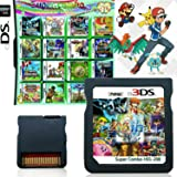 208 in 1 Game Cartridge, DS Game Pack Card Compilations, Super Combo Multicart for Nintendo DS, NDSL, NDSi, NDSi LL/XL, 3DS,
