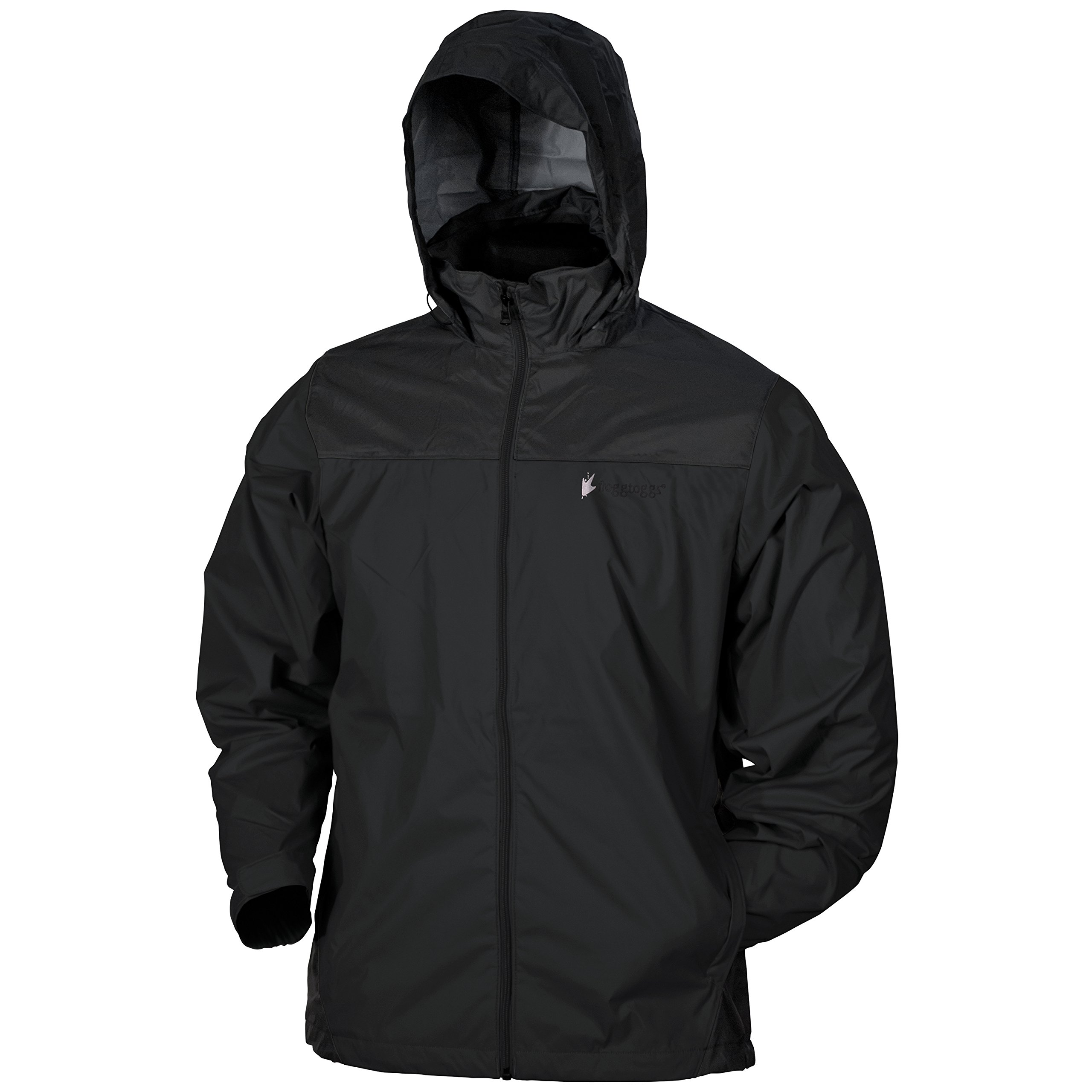 Frogg Toggs River Toadz Pack Jacket, Black, Size XX-Large