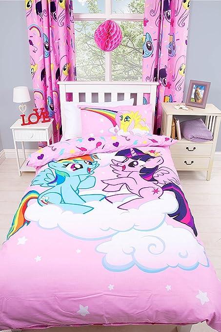 Copripiumino My Little Pony.My Little Pony Set Con Copripiumino Trapuntato Per Letto Singolo