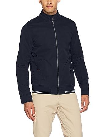 Tommy Jeans Herren Basic Harrington Lang - Regulär Blouson Jacke  Amazon.de   Bekleidung 584624f1a7