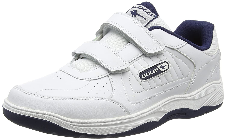 Ama202, Zapatillas Deportivas para Interior para Hombre, Blanco (White/Navy We), 48 EU Gola
