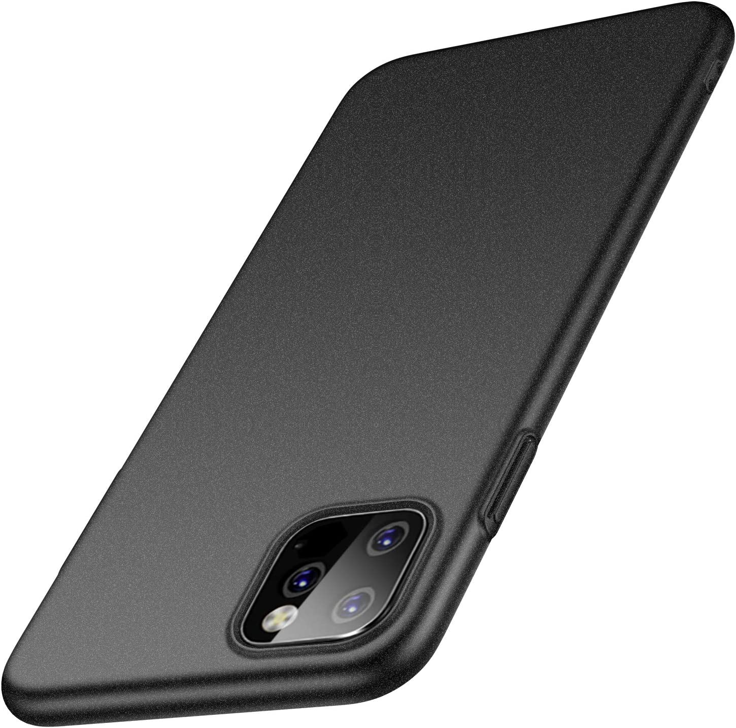anccer Compatible for Apple iPhone 11 Case with Screen Protector, Ultra-Thin Premium Material Slim Cover for iPhone 11 6.1 Inch (2019) - Gravel Black