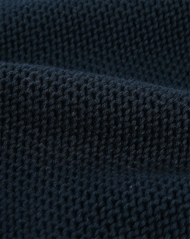 M.STUDIO - Crew-neck Sweaters - Men - Navy Victor Plain Round-Neck Sweater for men