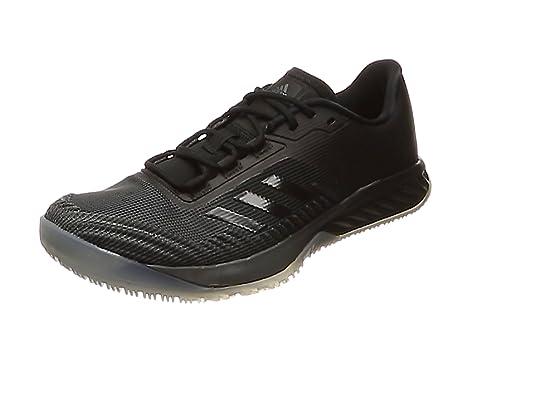 adidas Crazyfast Trainer, Scarpe da Fitness Uomo, Grigio (Dgsogr/Cblack/Eqtyel