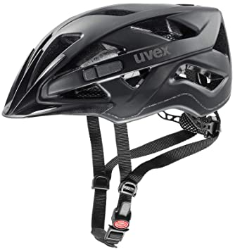 Uvex Active CC bicicleta casco negro mate 2018: Tamaño: 52 – 57 cm