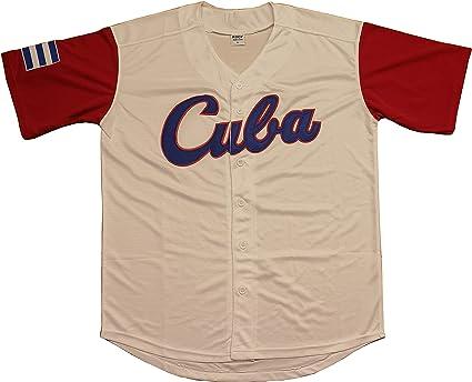Camiseta de béisbol para hombre adulto de Kooy. México, Puerto Rico, Colombia, Italia, Cuba, Venezuela, Clásico Mundial - - X-Large: Amazon.es: Ropa y accesorios