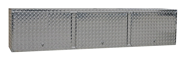 Amazon.com: Pit Posse 903 Overhead Storage Shop Aluminum Cabinet Race Car  Enclosed Cargo Trailer Shelf: Kitchen U0026 Dining