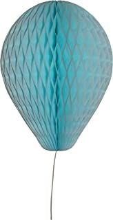 product image for 6-Pack 11 Inch Honeycomb Tissue Paper Balloon (Light Blue)