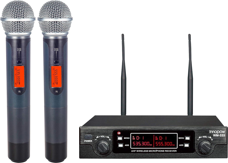 Innopow WM-333 the Best Wireless Microphone System in 2020