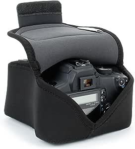 USA Gear Funda De Cámara Digital | Estuche Semipermeable Para Cámara Reflex | Bolsa Protectora DSLR Para Nikon, Canon EOS, Sony Alpha y Accesorios: Amazon.es: Electrónica