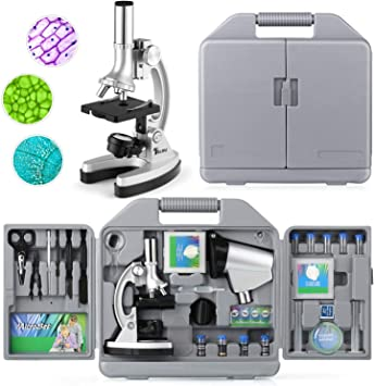 NPW Compact Pocket Microscope Education//Learning Kids Science,3x Magnification