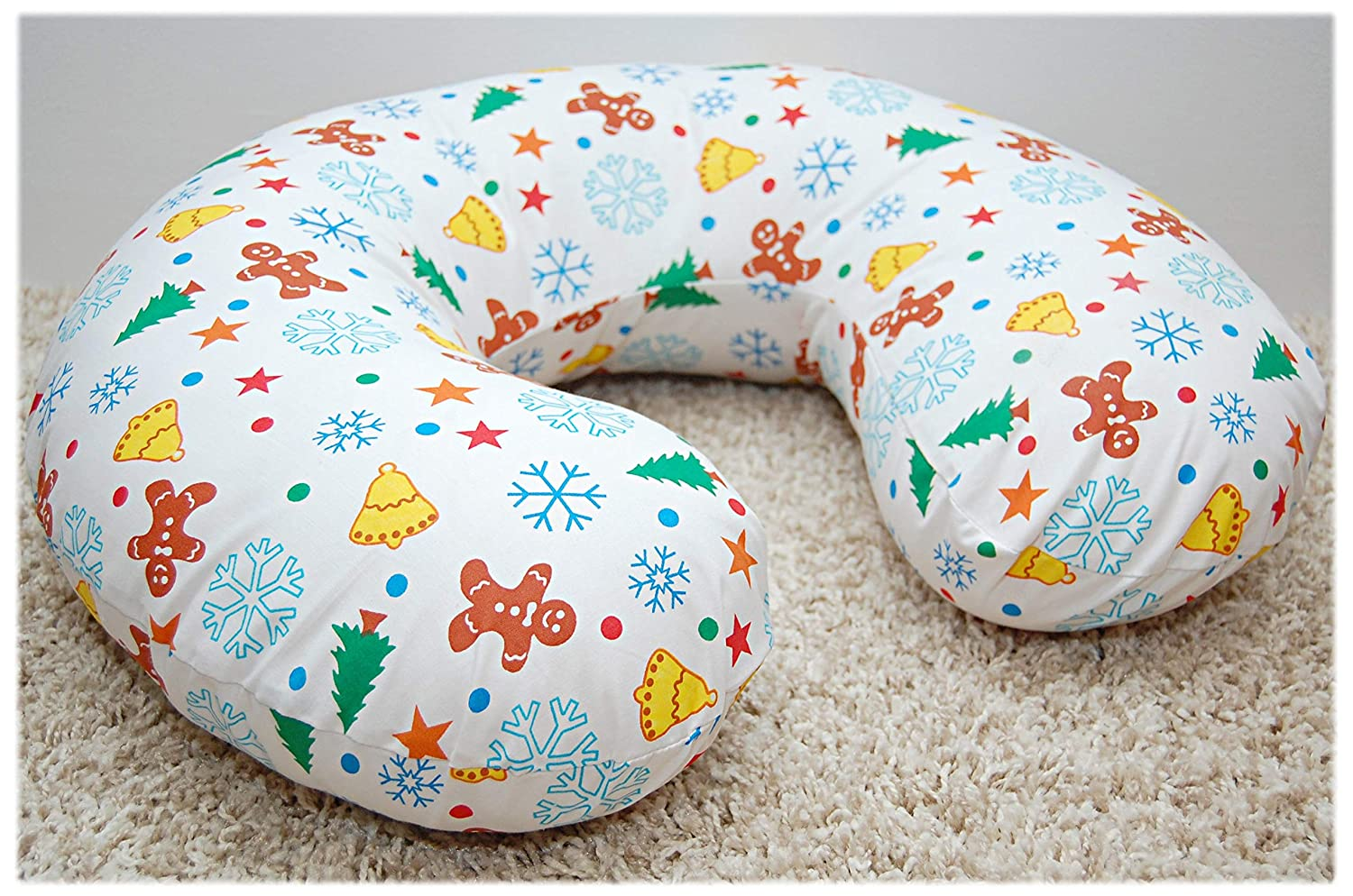 1 Cotton Cover for Multipurpose Breast Feeding MATERN​ITY Nursing Pillow Cover ONLY