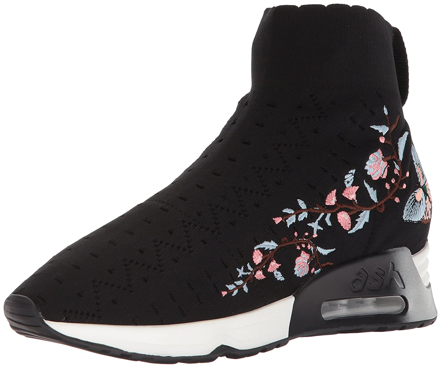 Ash Women's AS-Lotus Sneaker B073JT86LT 37 M EU (7 US)|Black