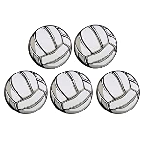 Sports Athlete Volleyball Magnet Decal for School Lockers, Cars, or Refrigerators, 3 3/4 Inch