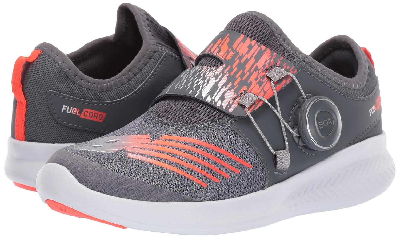 c57d0135d8a76 Amazon.com | New Balance Boys' FuelCore Reveal Running Shoe, Gunmetal/Alpha  Orange 13 W US Little Kid | Running